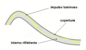 sezione fibra ottica